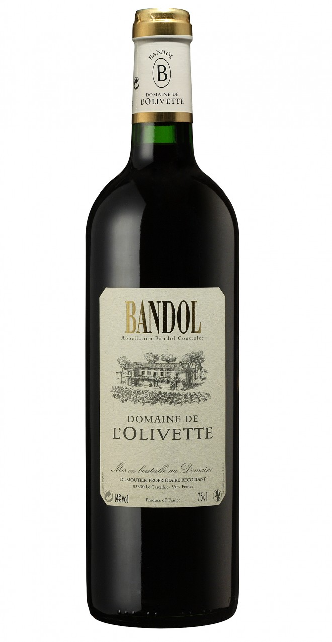 Visuel L'Olivette Bandol rouge Tradition