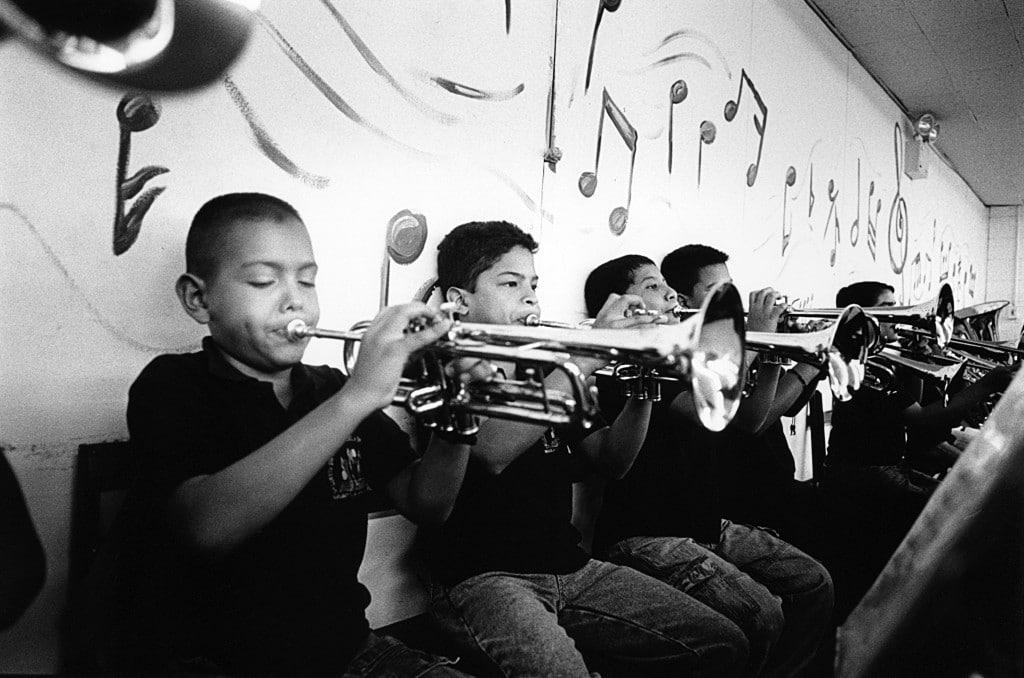 Caracas / Venezuela / April 2008 Riconda music center, by Peter Dammann