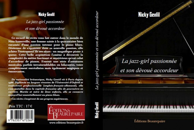 couverture La jazz-girl