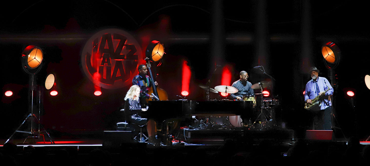 JAZZ A JUAN : DIANA KRALL, LE « GREAT AMERICAN SONGBOOK » POUR CREDO